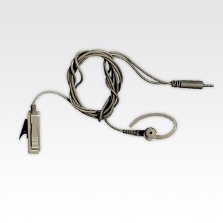 BDN6667A Earpiece with Microphone and Push-to-Talk Combined (2-Wire), Beige