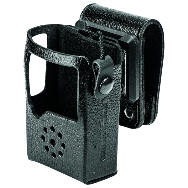 LCC-S24S Leather Case with Swivel Belt Loop