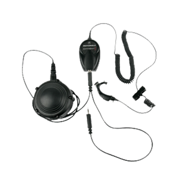 NNTN4186A CommPort Ear Microphone System with Body PTT