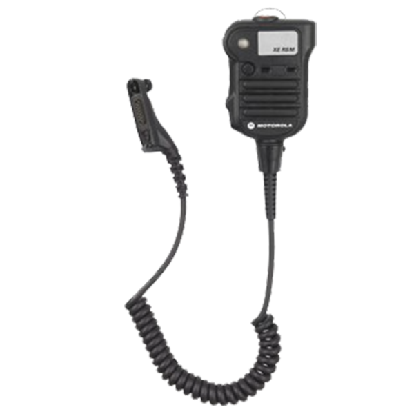 NNTN8575A_BLK APX XE Remote Speaker Microphone (RSM) With Xtreme Temperature Cable