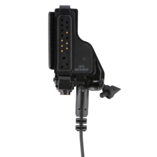 NTN1625 CommPort Ear Microphone System with PTT on Radio Adapter