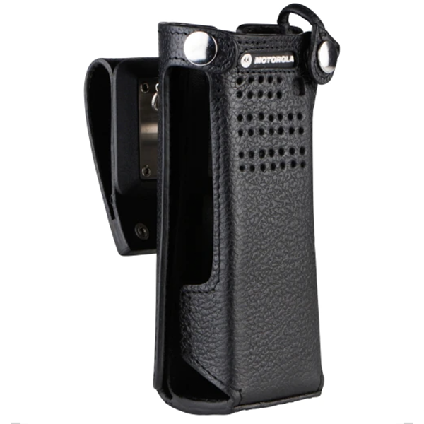 PMLN5560 Leather Flip Carry Case for Short Battery