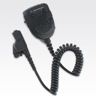 RMN5038 Remote Speaker Microphone with Orange Programmable Button