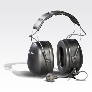 RMN5137 3M Peltor MT Series Over-The-Head Headset With Direct Radio Connect