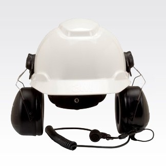 RMN5139 3M Peltor MT Series Hard-Hat Attached Headset With Direct Radio Connect