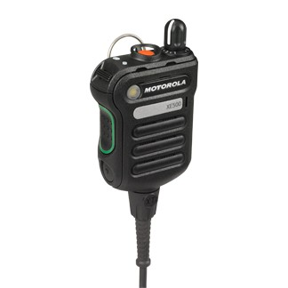 PMMN4106ABLK APX XE500 Remote Speaker Microphone, Black