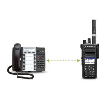 RBX +PLUS Two-Way Radio Telephone