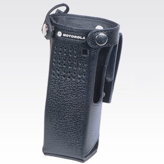 """NNTN8111 Leather Carry Case with 2.75"""" Swivel Belt Loop For Short Batteries"""
