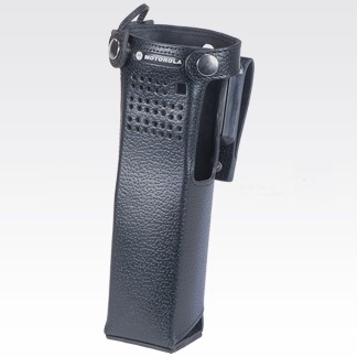 """NNTN8115 Leather Carry Case with 2.75"""" Swivel Belt Loop For Long Batteries"""
