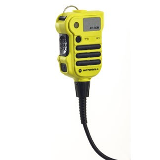 NNTN8203_YLW APX™ XE Remote Speaker Microphone (Public Safety Yellow)