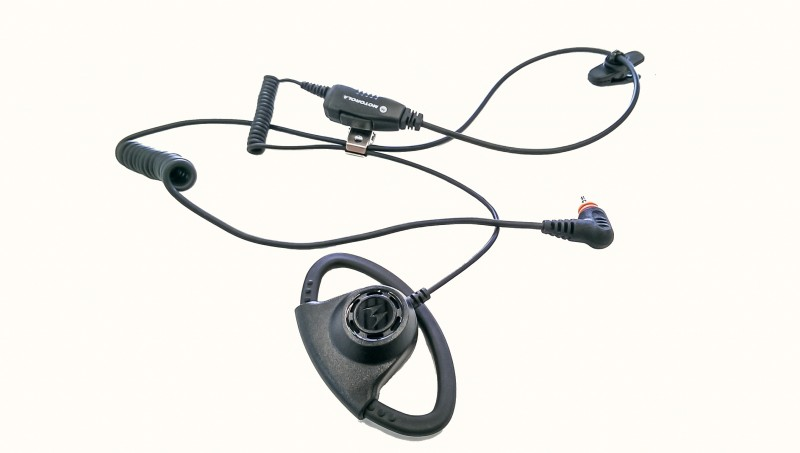 PMLN7159 Adjustable D-Style Earpiece